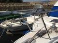 ボートのバウパルピット(船首手すり)の改造