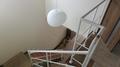 オーダーハウスの吹抜けのオープン階段手すり