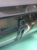 ステンレス配管支柱とステンレス洗浄水槽サポート